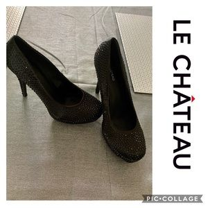 (3 for $30) Le Chateau High Heels size 9 4 inch